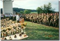 Bewerb Pürach 1997 Siegerehrung